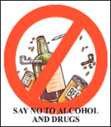 NO - Say no to drugs