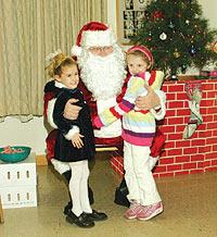 santa and kids - santa