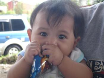 Joshua James - this was taken when we watch his older brother to his Linggo ng Wika
