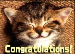 congratulations - congratulations