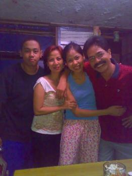 with my dad - taken in manila philippines with my dad and his friends.