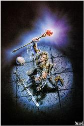 Warrior Woman - A female warrior by Luis Royo