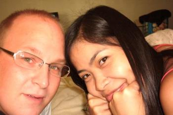 with the man i'm gonna marry one day - taken in davao city, philippines with the man i'm gonna marry one day