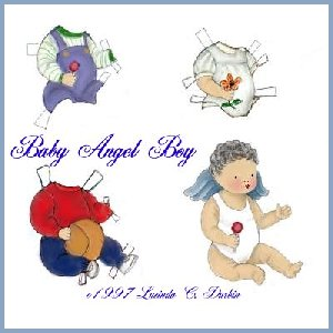 Paper dolls  - This is Angel Boy
