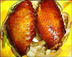 looks nice, isn't it? - baked wings!!