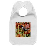 Hummingbird Baby Bib - Exclusively at Art by Cathie http://www.cafepress.com/artbycathie