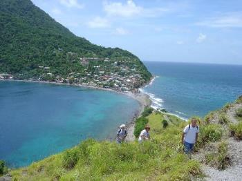 Scotts Head Dominica - the fishing village at the southern end of the island