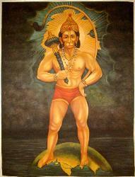 Hanuman - Lord and an Indian God