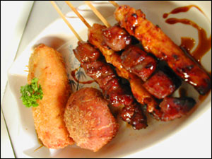 Sate - sate, indonesian food