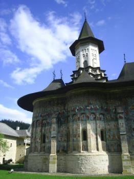 churchchurch - Manastirea Sucevita Romania