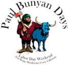 Fort Bragg logo for Paul Bunyon Days - fun!