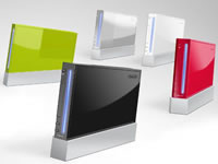 The Wii. - Different colors.