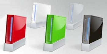 Different colored Wii's - Wii's