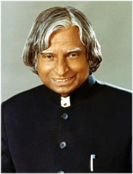 President of India - The product of Chennai! Our president is belonged to the Tamilnadu State by origin.