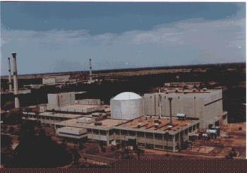Kaloakkam Reactor - The reactor was operated upto 30kW (nominal power) for irradiation of specimens for experimental/forensic purposes. The Uranium-233 fuel attained burn-up of 550 MWd/t. The operations of the reactor will continue for irradiation of samples and also to carry out the neutron radiography of FBTR fuel pins. It is located in Chennai, Tamil Nadu