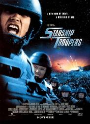 Starship Troopers - Movie poster of Starship Troopers owned by Touchstone and Tristar.