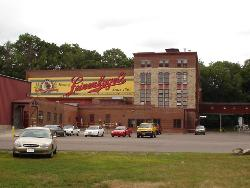 Leinenkugel Brewery - This is a picture of the brewery and the lodge is just next door where they give you free samples of their new beers and its just a great place for the family to visit and get to a little history about their town.