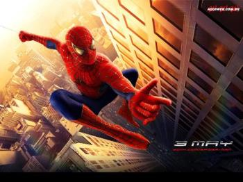 Spiderman - one of the view of spider man...............