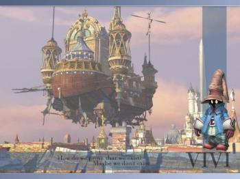 Final Fantasy IX - Vivi - Vivi, the black mage character in Final Fantasy IX.