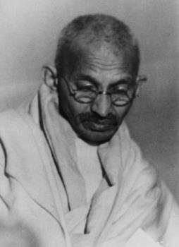 Gandhi - mahatma gandhi is the father of the nation