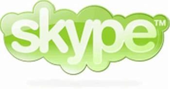 skype logo. - skype logo. please visit to http://www.skype.com/