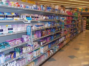 The tampon aisle - decisions decisions!