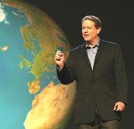 An Inconvenient truth - Al Gore in An Inconvenient truth