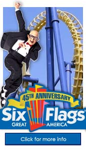 six flags - this is an image of six flags amusement park
