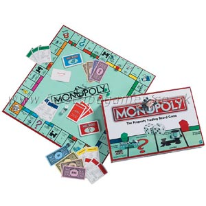 Monopoly - this is the board game, Monopoly