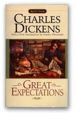 Great Expectations - The cover page of the novel