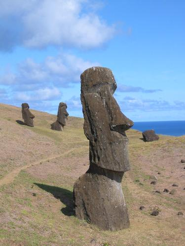 Moai - The Moai are one of the World's great mysteries. Who built them and why???