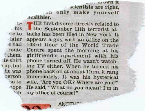The Divorce - America'a Famous Divorce