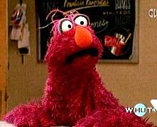 """Sesame Street Muppet, Telly Monster - """"Intense and earnest"""""""