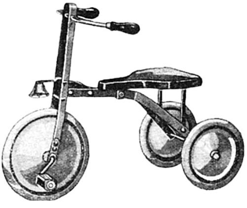 tricycle - clip art pic of tricycle