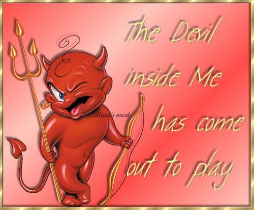 The Devil - Cute Devil