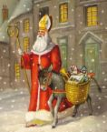 Santa Claus - From which saint he was called after?