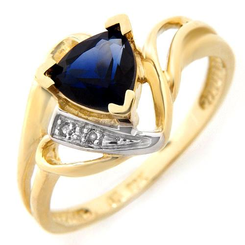 Sapphire Ring - This was one of my best deals.
