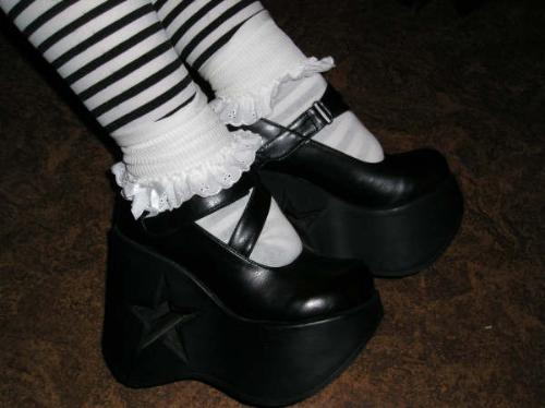 My shoesies! - There are my mary janes, I like them a lot :)