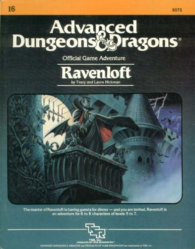 The first Ravenloft Module - Other than the first novel, this is the module that started it all.
