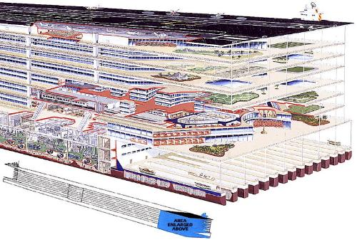 City At Sea: Plans For The World's Largest Ship  - City At Sea: Plans For The World's Largest Ship