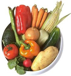 vegetables - Vegetables give good health.