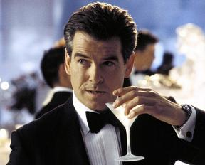 Bond with the best - Brosnan as Bond