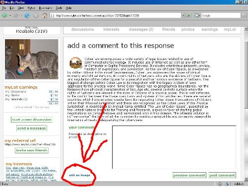 click points to add to a message when replying to  - click points to add to a message when replying to discussions.