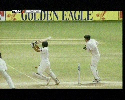 what a shot - who will win today india or south africa...i think today india as sehwag will be captain.