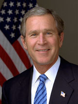 George Bush - George Bush, president of the United States of America