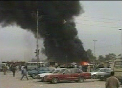 The 2006 Sadr City - Image from the 2006 Sadr City bombings, a very articulated terrorism act.