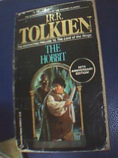"""the hobbit ( lords of the ring) - original cover of the book """"the hobbit"""""""
