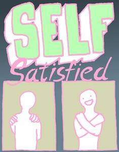 self satisfied - satisfied