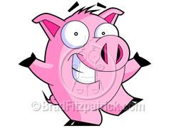 pig - cartoon pig