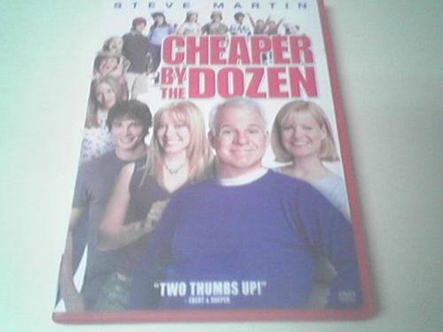 Cheaper by the Dozen - This is one funny movie.  Steve Martin is a riot.